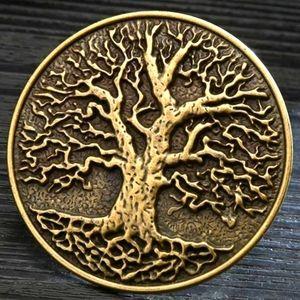 New tree of life belt buckle